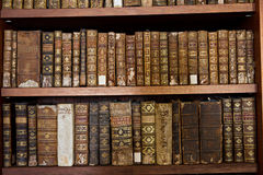 Libros históricos raros Foto de archivo libre de regalías