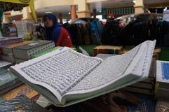 Libros islámicos fotos de archivo