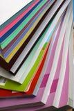 Libros multicolores Foto de archivo libre de regalías