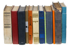 Libros olvidados antiguos Imágenes de archivo libres de regalías