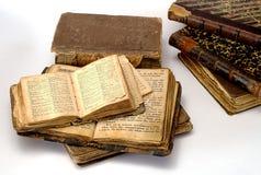 Libros religiosos viejos Imágenes de archivo libres de regalías