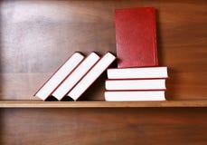 Libros rojos Imágenes de archivo libres de regalías