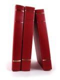 Libros rojos Foto de archivo