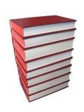 Libros rojos imagenes de archivo