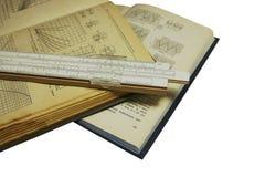 Libros técnicos foto de archivo