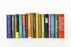 Libros - varios temas fotos de archivo