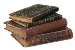 Libros viejos 18 edades Imagen de archivo libre de regalías