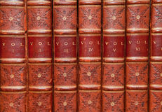 Libros viejos Imagen de archivo libre de regalías