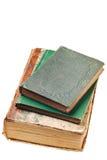 Libros viejos del 1800's Foto de archivo libre de regalías