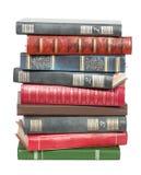 Libros viejos en una pila Imagen de archivo libre de regalías