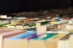 Libros viejos para la venta Foto de archivo libre de regalías