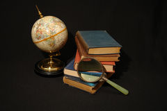 Libros y globos VI Imagen de archivo libre de regalías