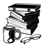 Libros y materia Imagenes de archivo