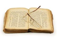Libros y vidrios Fotografía de archivo libre de regalías