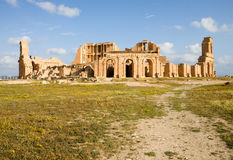 Libya � Sabratah Royalty Free Stock Photo