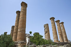 Libya. Archaeological site of Cyrene,the Apollo temple Royalty Free Stock Photography