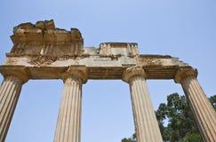 Libya. Archaeological site of Cyrene,the Apollo temple Stock Photos