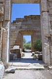 Libya. Archaeological site of Leptis Magna,the Roman basilica Royalty Free Stock Images