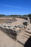 Libya. Archaeological site of Tolemaide,the acquatic Roman theatre Royalty Free Stock Photography