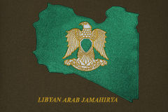 Libya Coat of Arms Royalty Free Stock Photo