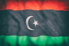 Libya flag Stock Image