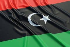 Libya flag Stock Images