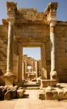 Libya – Leptis Magna, detail of a gate Stock Images