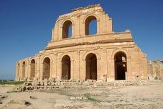 libya rzymski sabratha teatr fotografia royalty free
