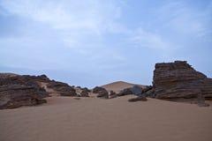 Libya. Sahara desert,the Akakus rocky area Royalty Free Stock Image