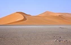 Libya. Sahara desert,the Ubari dunes area Royalty Free Stock Photos