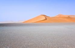 Libya. Sahara desert,the Ubari dunes area Stock Image