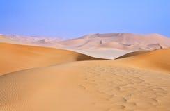 Libya. Sahara desert,the Ubari dunes area Stock Photography