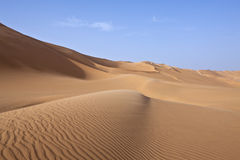 Libya. Sahara desert,the Ubari dunes area Royalty Free Stock Photo