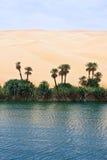 Libya. Sahara desert,the Ubari lakes area Stock Image