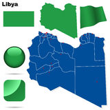 Libya set. Stock Images