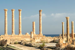 Libya, Tripoli, Leptis Magna Royalty Free Stock Photography