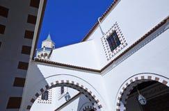 Libya. Tripoli,the mosque Jami Ammad in the old Medina Stock Image