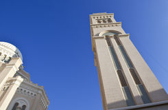 Libya. Tripoli,the Nasser mosque in the Colonial district Royalty Free Stock Photo
