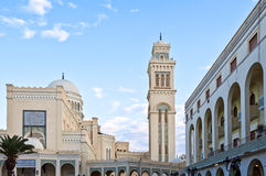 Libya. Tripoli,the Nasser mosque in the Colonial district Stock Photography