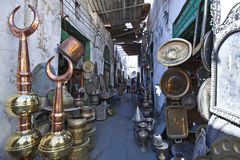 Libya. Tripoli,the Suq of the old Medina Stock Photos