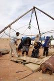 libya tuaregs royaltyfri fotografi