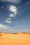 Libyan沙漠。 库存图片
