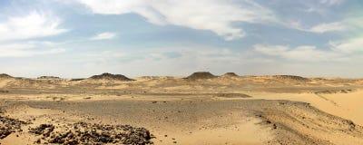 Libyan沙漠。 免版税库存照片