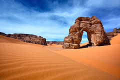 Libyan desert Royalty Free Stock Photo