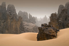 Libyan Desert Royalty Free Stock Photos