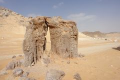 Libyan Desert Royalty Free Stock Photo
