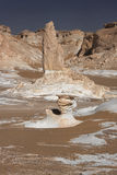 Libyan desert in West Egypt Stock Photography