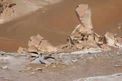 Libyan desert in West Egypt Stock Photo