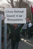 Libyan National Council is our Representative Stock Photo