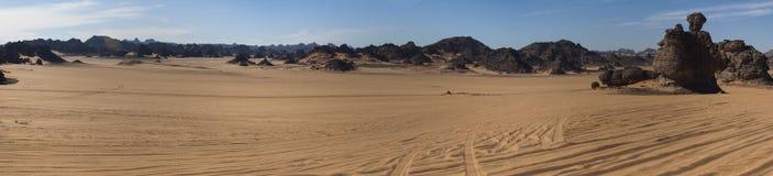 Libyan sahara desert Stock Photos
